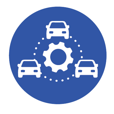 Carshare Company Icon
