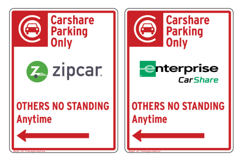 Carshare curbside regulation