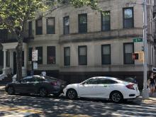 Zipcars parked in on-street carshare spaces